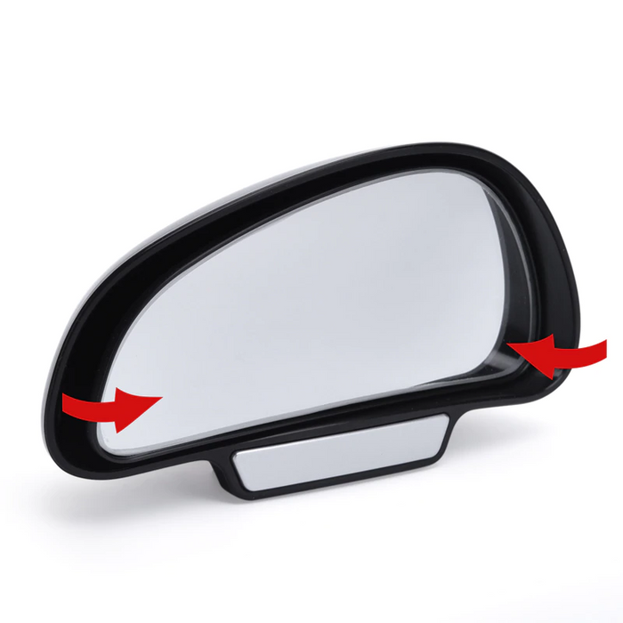 YASOKRO Car Mirror 360 Degree Adjustable Wide Angle Side Rear Mirrors blind spot Snap way for parking Auxiliary rear view mirror
