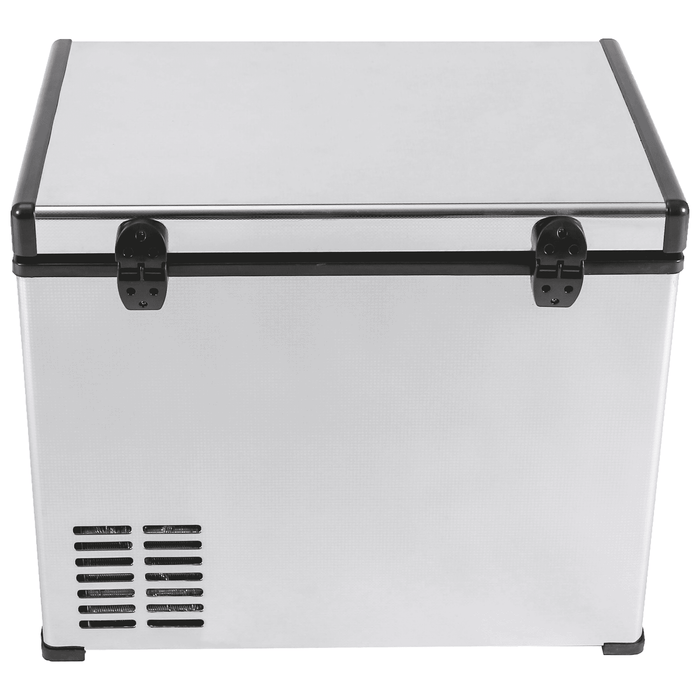Kooltron 60L Stainless Steel Dual Compartment Fridge / Freezer Camping 12v24v 240v - Ozimall