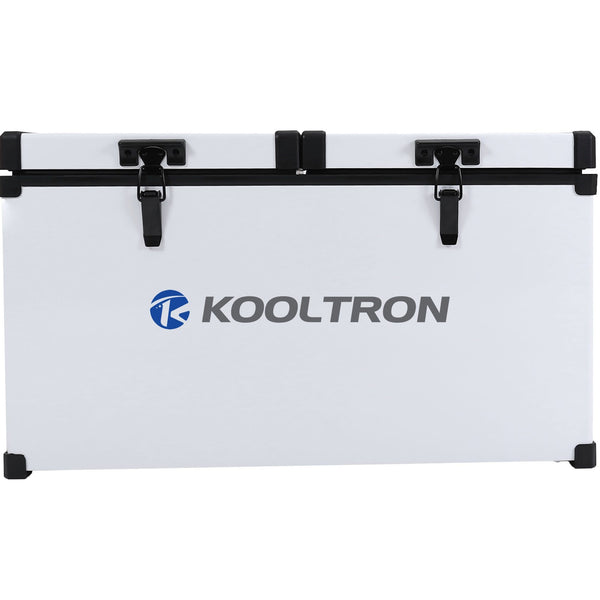 Kooltron 72L Low Profile Dual Compartment Fridge / Freezer Camping 12v 24v 240v