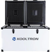 Kooltron Low Profile 72L 82L Portable Fridge / Freezer Camping 12v 24v 240v