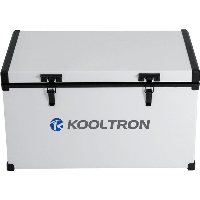 Kooltron 82L Low Profile Single Compartment Fridge / Freezer Camping 12v 24v 240v