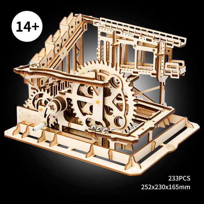 Robotime Magic Crush - Marble Run Model Building Kits - Cog coaster