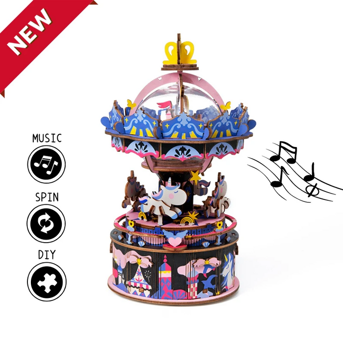 Robotime New Arrival DIY Music Box - Starry Night