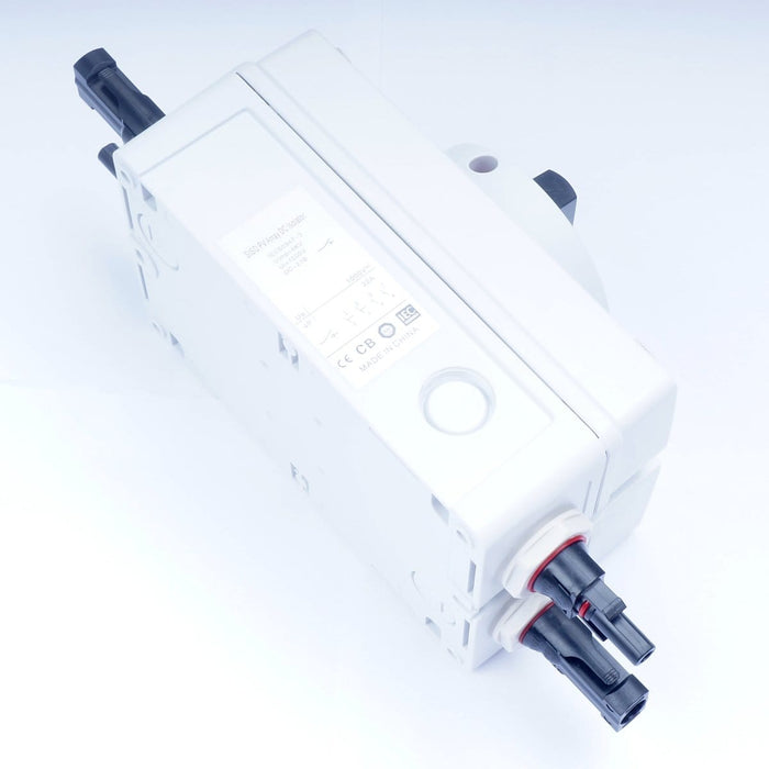 Solar DC Isolator Switch with MC4 Connectors 1000V 32A Weather Proof 4 Pole