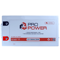 Pro Power 24V Volt 900AH  AGM Deepcycle Battery Bank 4wd Boat Solar System