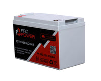 Pro Power 12V Volt 100AH GEL Deep Cycle Battery Caravan 4WD Boat Solar System