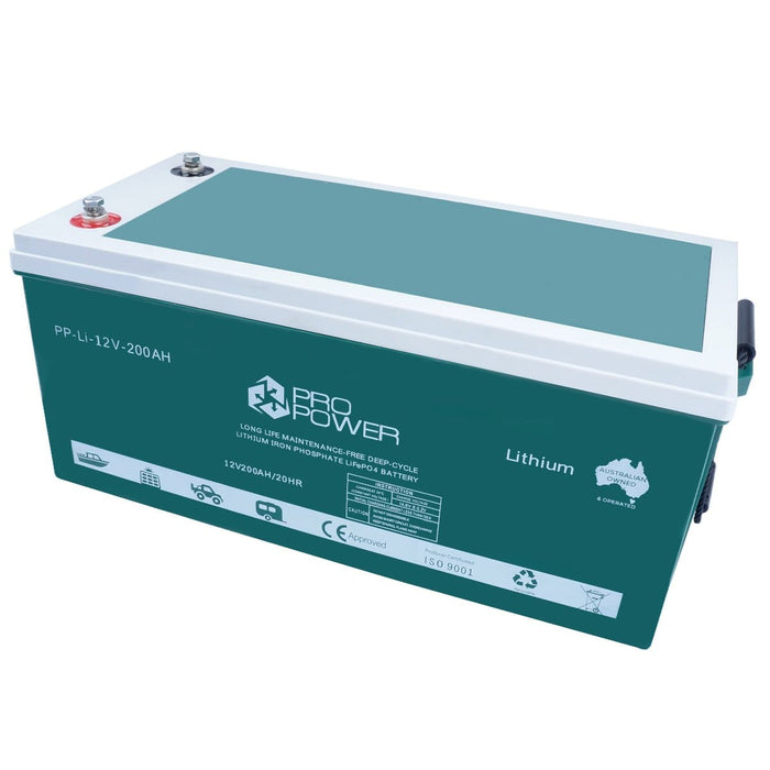 Pro Power 12V 400ah Lithium Ion LiFePo4 DeepCycle Battery Bank Solar 4WD Caravan - Ozimall