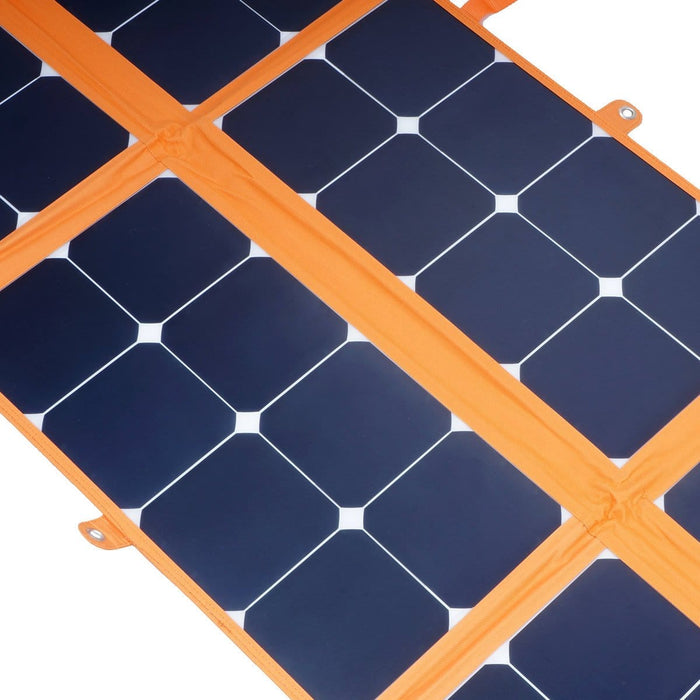 150W 12V Foldable Solar Mat Blanket with Sunpower Cells For Camping Caravan Boat - Ozimall