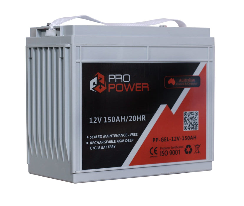 Pro Power 48V Volt 48V 150AH  GEL Deepcycle Battery Bank 4wd Boat Solar System - Ozimall