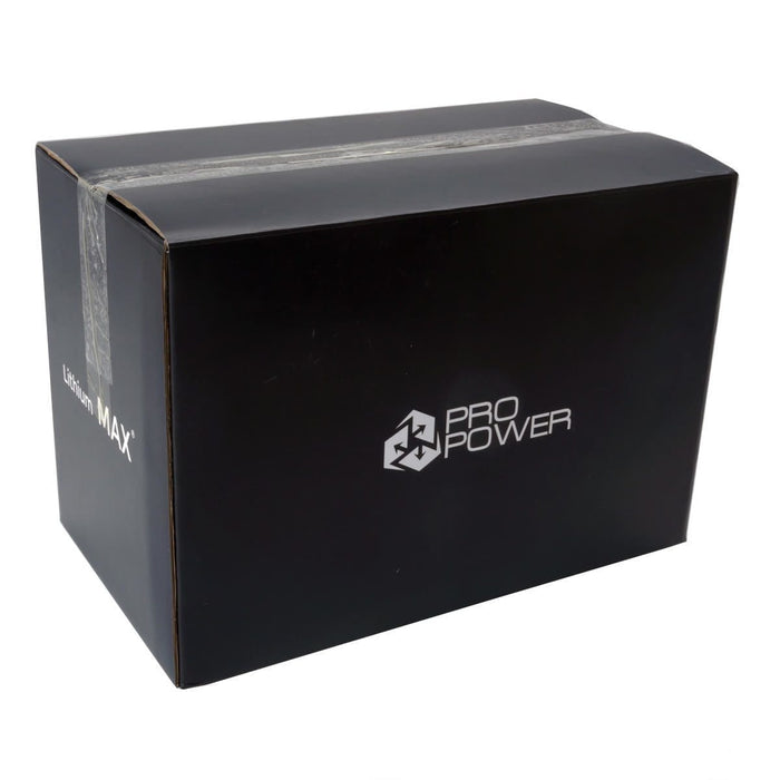 Pro Power 12V 110ah Lithium Iron LiFePo4 Deep Cycle Battery with Charger - Ozimall