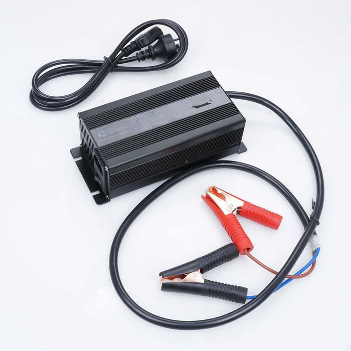 Pro Power 12V Volt 300ah Lithium Iron LiFePo4 Deep Cycle Battery + 20A Charger - Ozimall