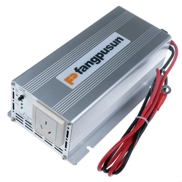 300W / 600W Pure Sine Wave Inverter 12V DC to 240v AC Camping Boat