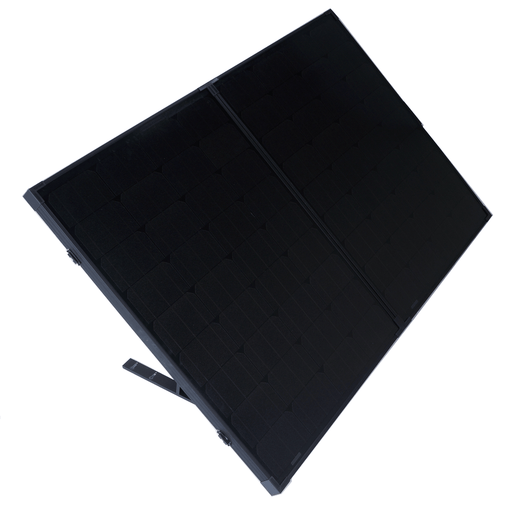 160w Portable Mono Solar Panel 12v Folding Kit For Camping Caravan Boat Charging - Ozimall