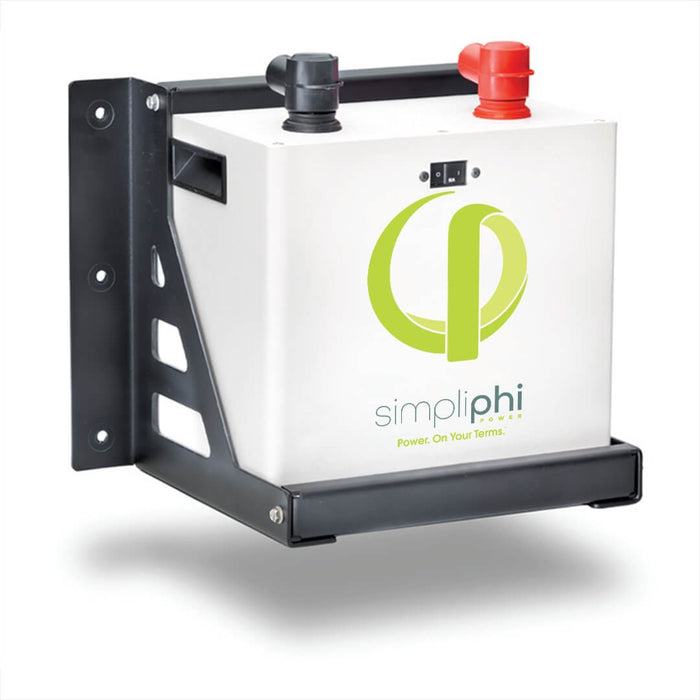 SimpliPhi PHI Lithium Ferrous Phosphate (LFP) Battery 2.7kWh 24V Battery Bank