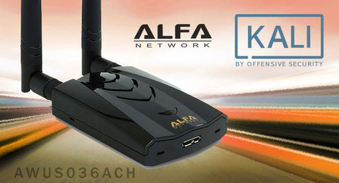 Alfa AWUS036ACH packet injection now supported in Kali