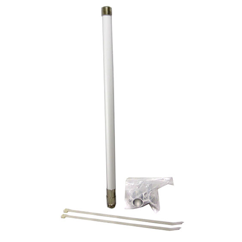 8 dBi omnidirectional outdoor Wi-Fi antenna - 2.4 GHz w/ N-female connector