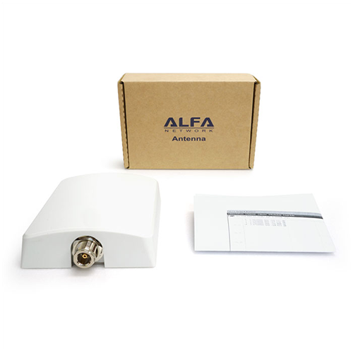 ALFA APA-L2410 10 dBi outdoor Wi-Fi directional panel antenna for Alfa Camp Pro 2