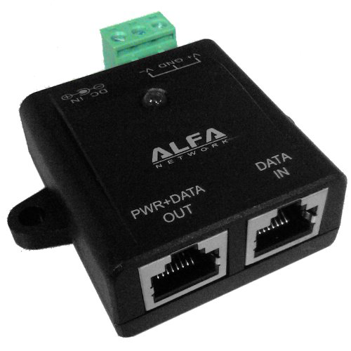 ALFA APOE03 Redundancy Industrial PoE (Power over Ethernet) Adapter