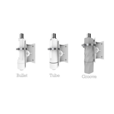 Alfa Wall Mount Kit WMK02 for Ubiquiti Bullet, Mikrotik Groove/Metal, Alfa Tube