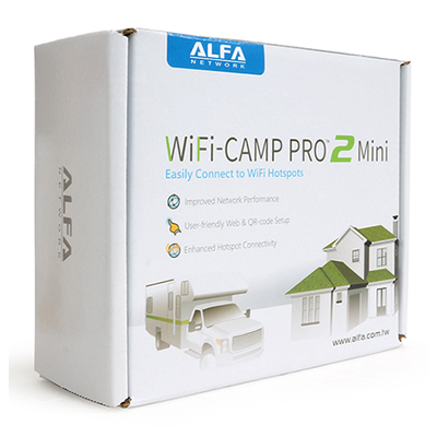 ALFA WiFi Camp Pro 2 Mini - Wi-Fi repeater kit - R36A + AWUS036NH