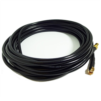 Antenna extension cable RP-SMA male to RP-SMA female 5m low loss CFD-200 pigtail