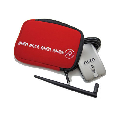 ALFA U-Bag red neoprene carry case/holder