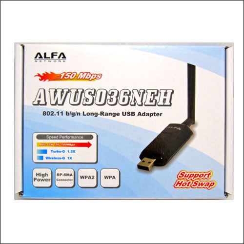 ALFA AWUS036NEH 802.11n WIRELESS-N USB Wi-Fi adapter