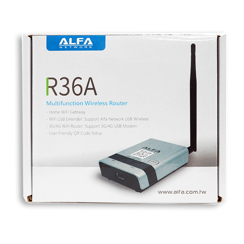 ALFA R36A USB Wi-Fi Wireless Router/AP Repeater for AWUS036NH & Tube-U(N)