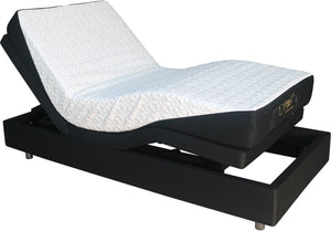 Smart Flex 2 (Base Only)- Adjustable Bed with Massage - 10 Year Guarantee