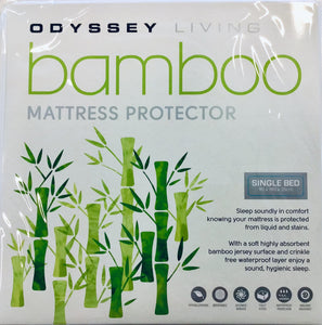 Odyssey Living Bamboo Mattress Protector