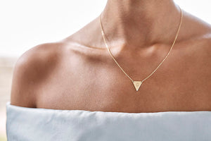 Stellarise Triangle Necklace