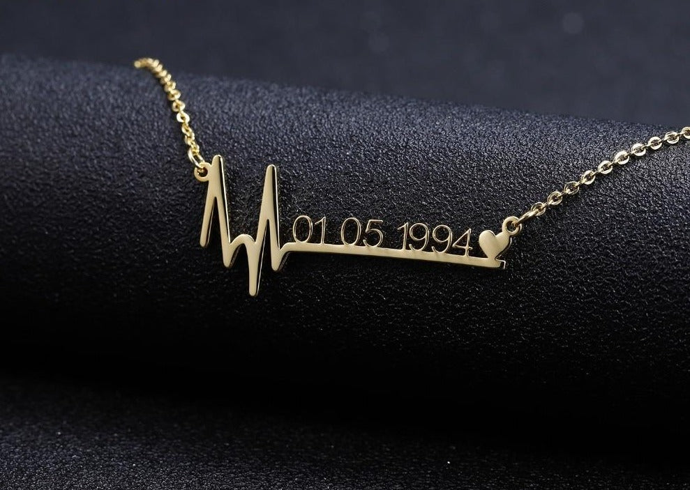 Heartbeat Custom Necklace