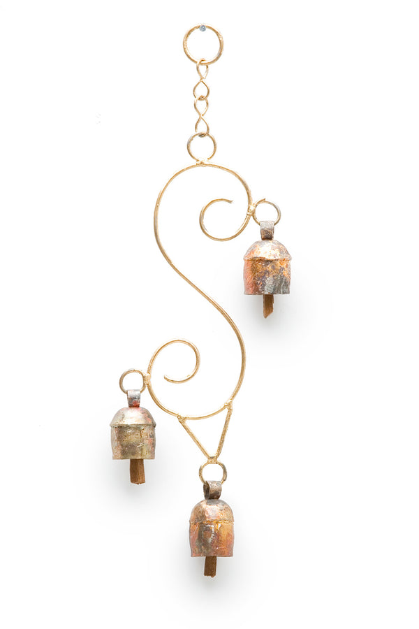 Curling Vine Chime, Small