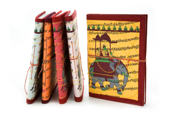 Medium Cloth-bound Notebook