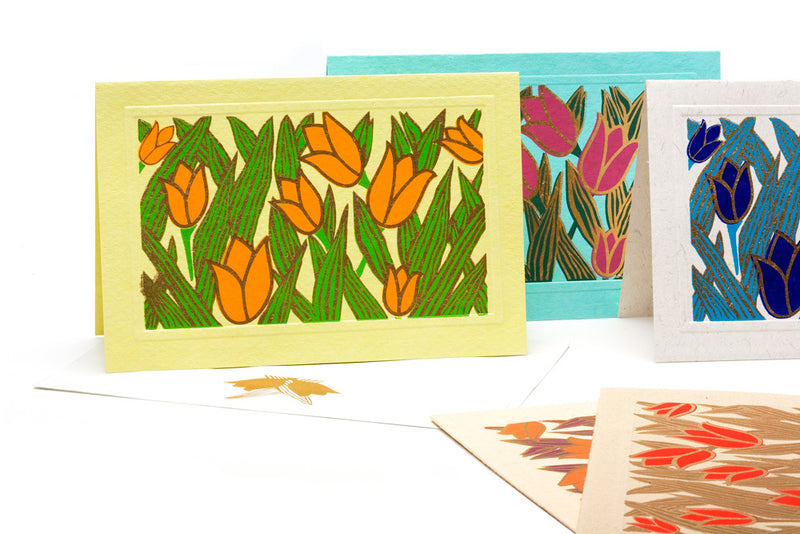 Tulip Notecards