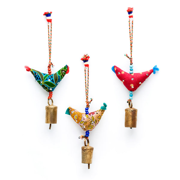 Prosperity Hen Ornaments, Large