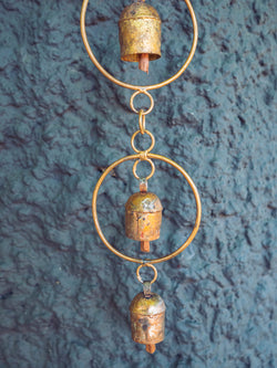 Single Gold Ring Chime, Large