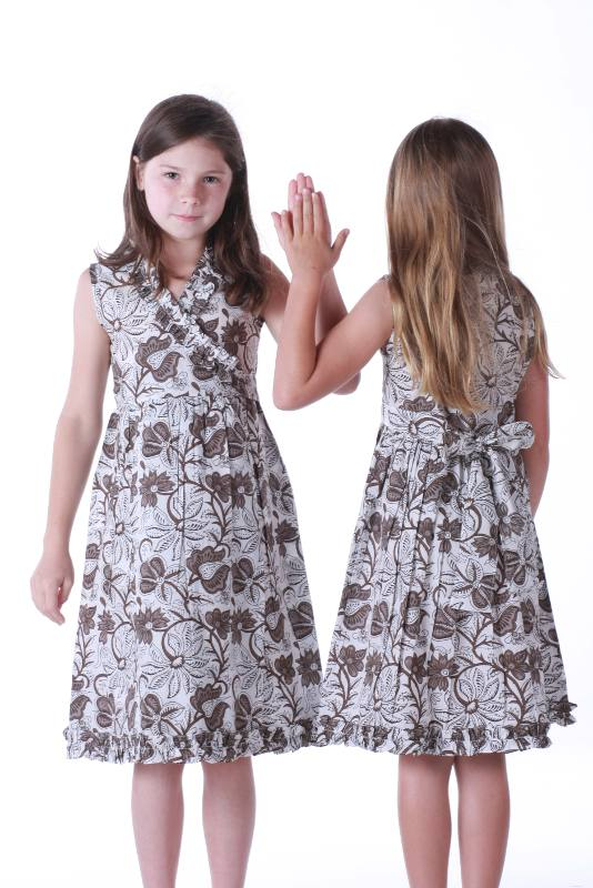 Girl's Wrap Dress