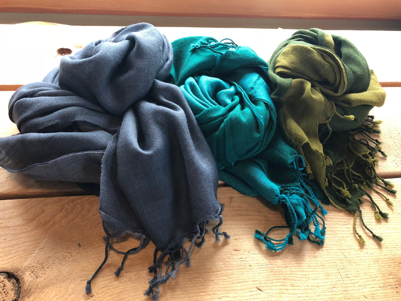 Hand Woven Scarves