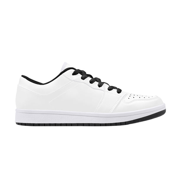 CustomDesigned Damen/Herren Sneakers Weiss/Schwarz D15 B
