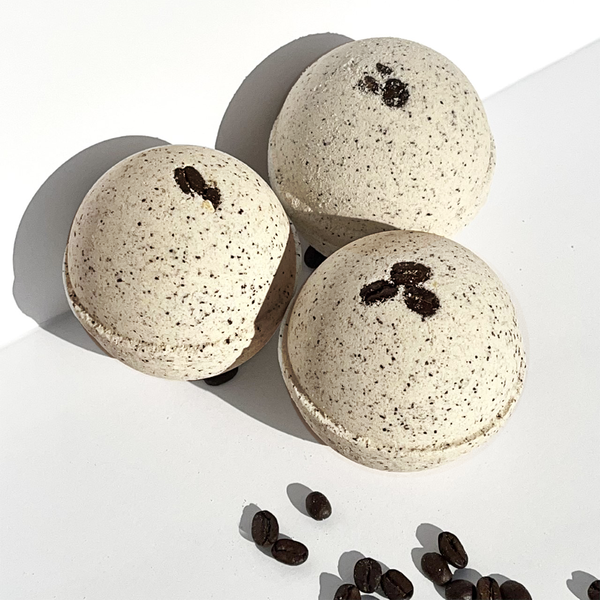 Cappuccino and Coffee Bean Bath Bomb
