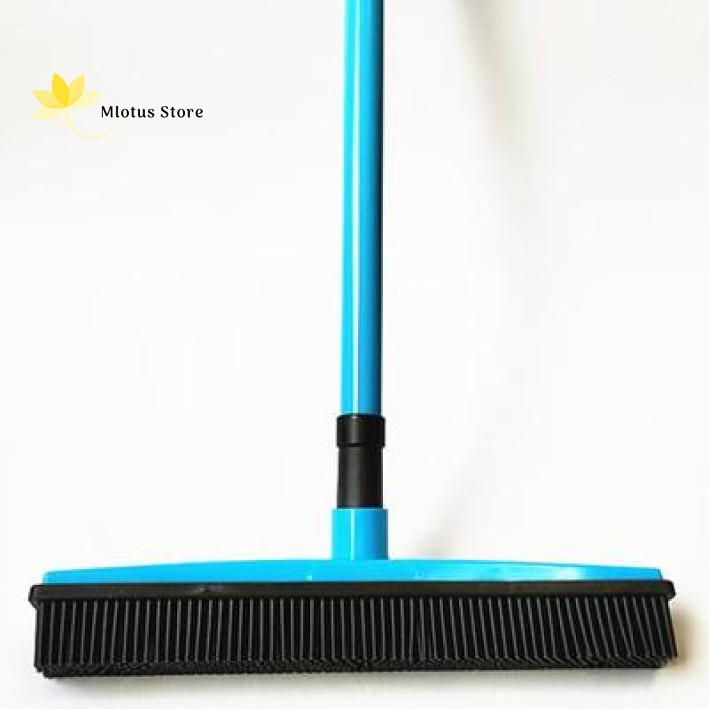 Multifunctional Hair Removal Rubber Broom Blue Sky