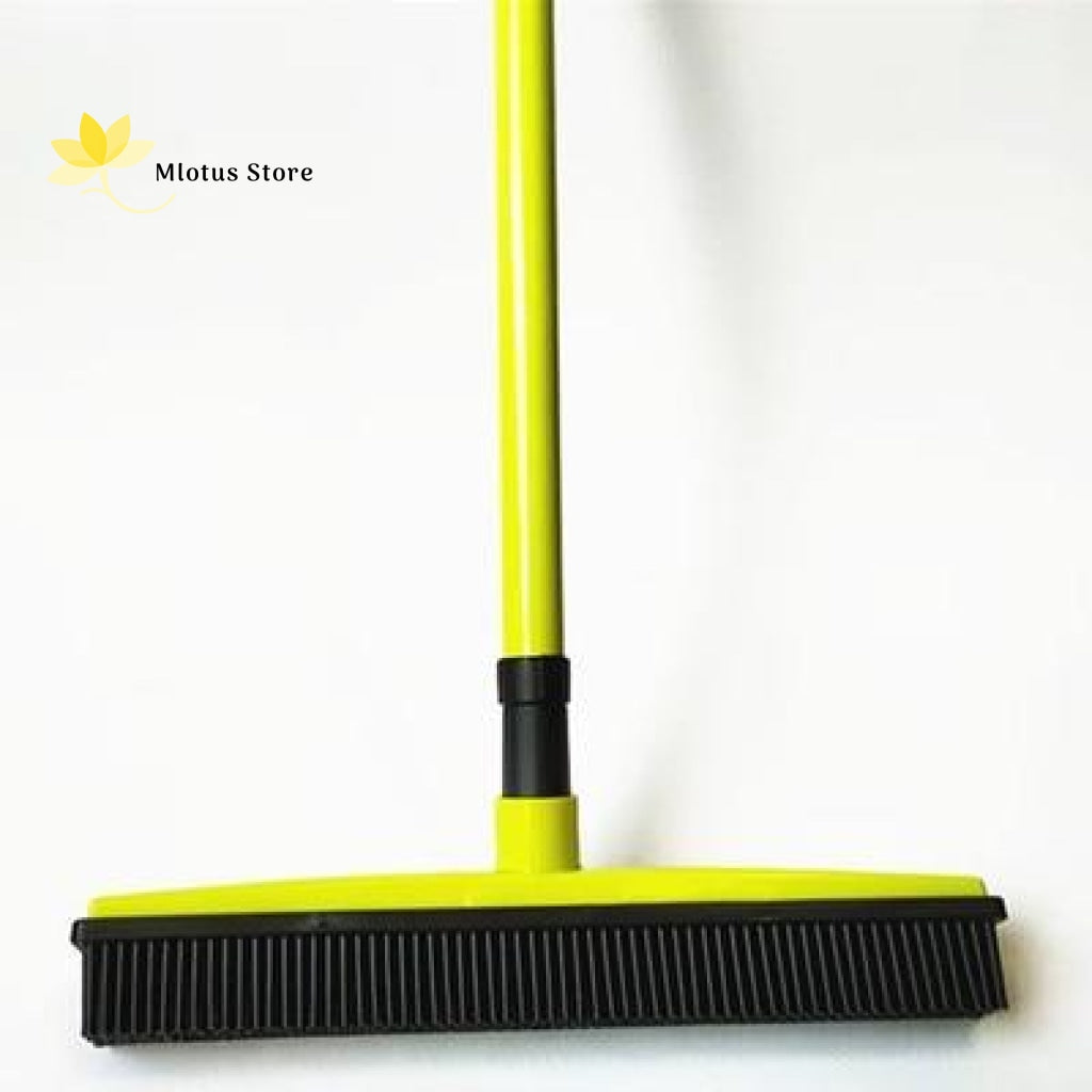 Multifunctional Hair Removal Rubber Broom Light Green