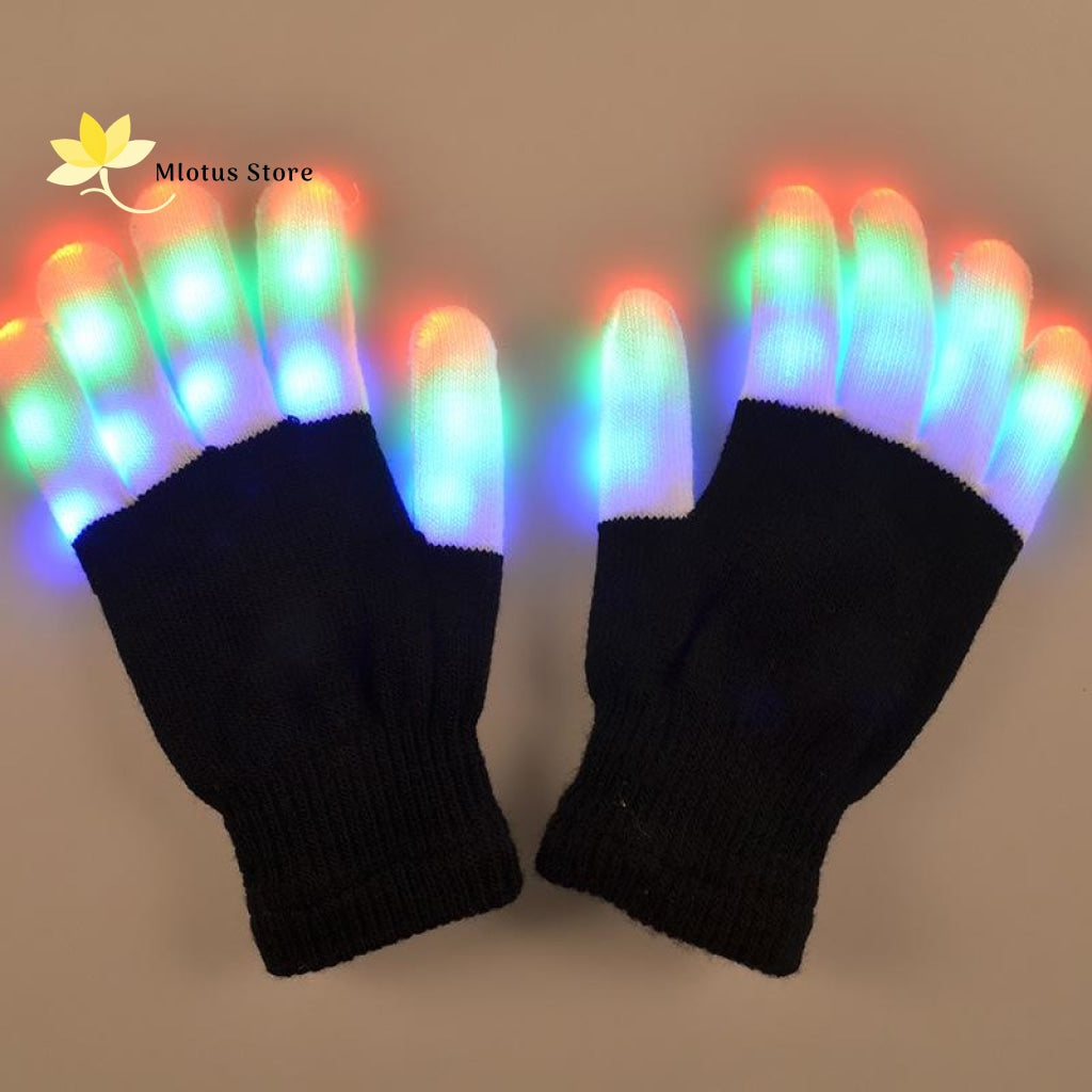 The Flashing Led Light Gloves