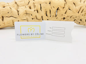 Flowers by Céline Gift Card