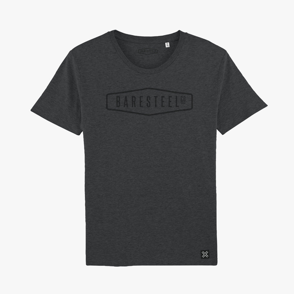 Heren t-shirt Baresteel logo