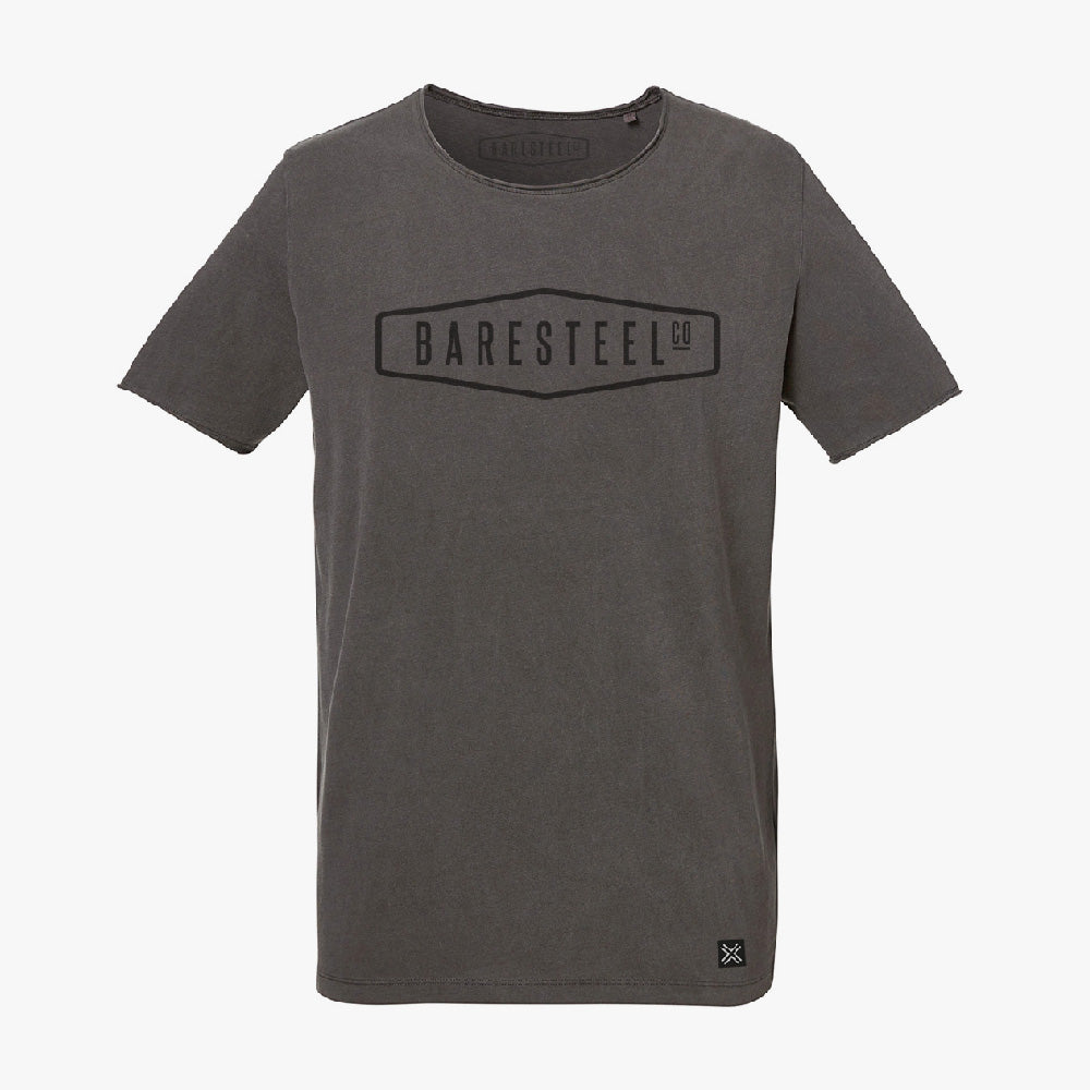 T-Shirt 'Baresteel' grey