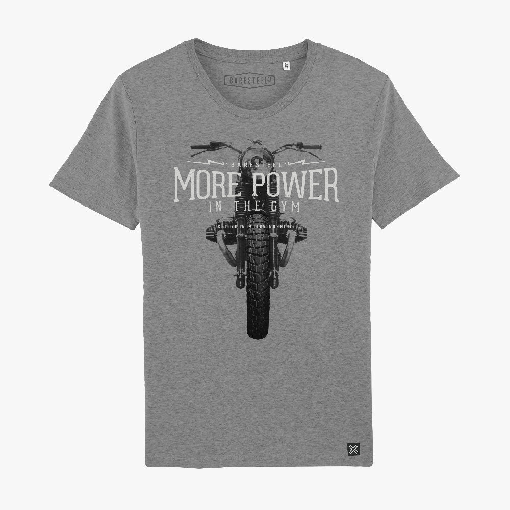 T-Shirt 'More Power in the Gym'