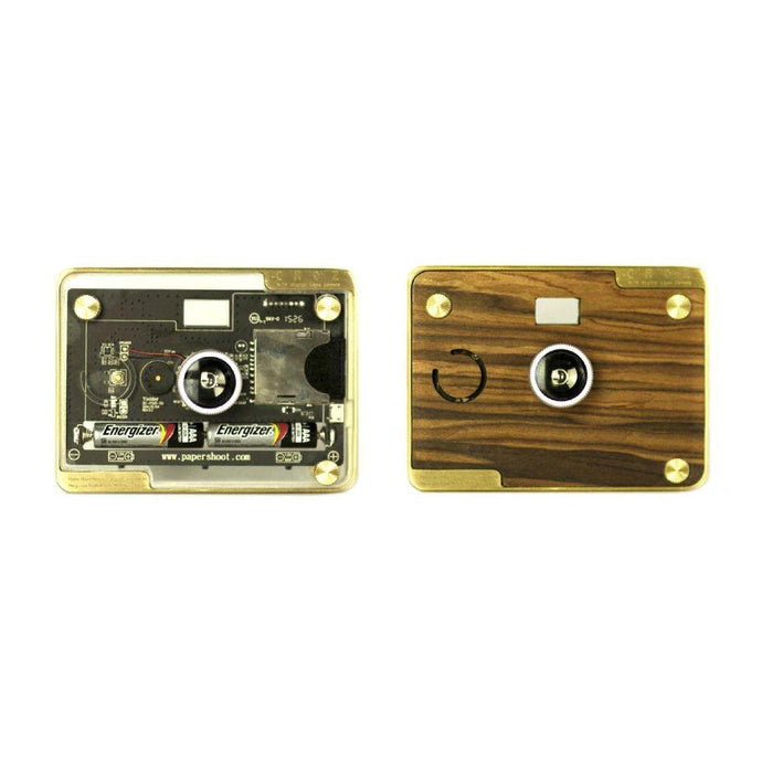 CROZ- VINTAGE CAMERA (wooden+transparent case)