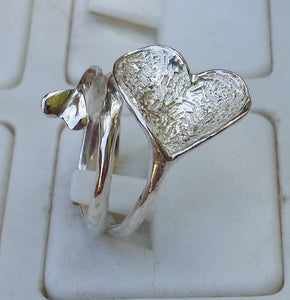 friendship silver ring